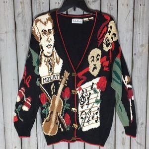 Vintage Mozart Belle Pointe Sweater
